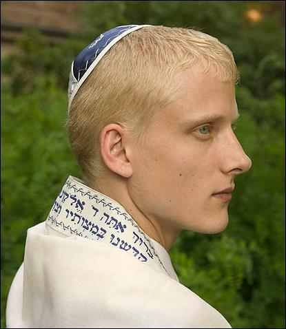 nordic aryan blond boy man